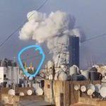 Publikohet video, bomba e hedhur në ajër shkaktoi shpërthimin e fuqishëm në Bejrut
